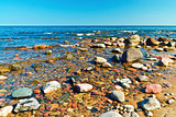 Sea and stones
