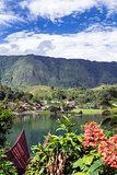 Ambarita Village View.