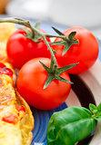 Cherry tomato on a plete