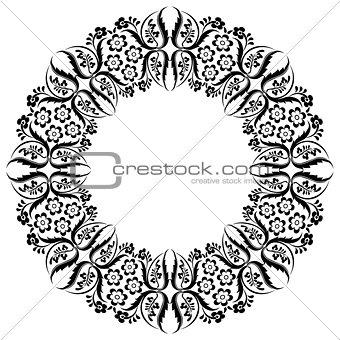 black oriental ottoman design thirteen
