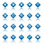 Web navigation icons