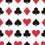 Play cards pattern