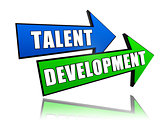 talent development in arrows