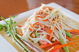 special papaya salad