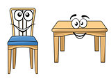 Cute cartoon wooden furniture