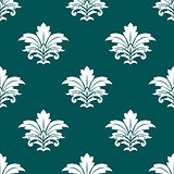 Damask style repeat arabesque pattern