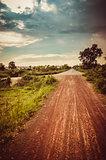 Road soil