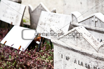 Cemetary architectures - Europe