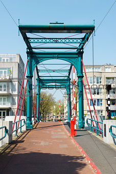Bridge Ezelsbrug, Amsterdam, the Netherlands