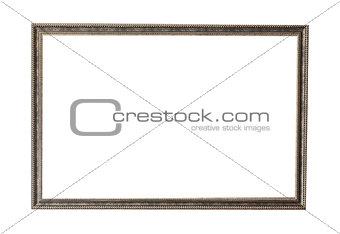Old bronze artwork frame