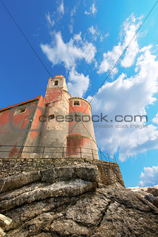 Church of San Giorgio - Tellaro Liguria Italy