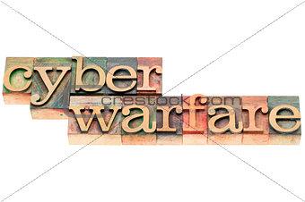 cyber warfare in wood type
