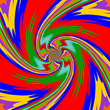 Design multicolor twirl movement background