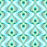 Design seamless colorful illusion checked pattern