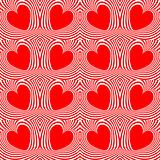 Design seamless swirl movement heart pattern