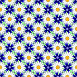 Design seamless colorful flower decorative pattern