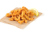 Breaded clam strips