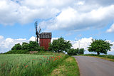 Windmill at roadside