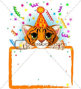 Baby Tiger Birthday