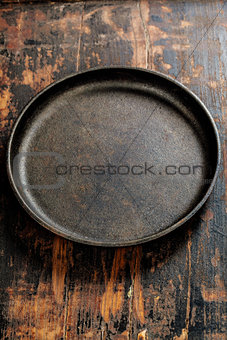 old frying pan