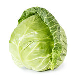 Whole fresh cabbage