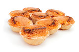 pasteis de feijao, typical Portuguese pastries