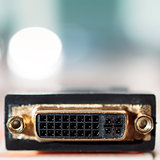 DVI input connector