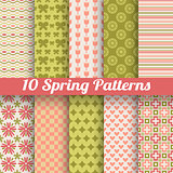 Different spring vector patterns
