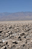 Devil's course in the death Valley, California, USA