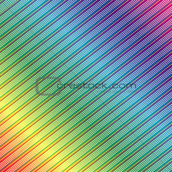 Background with colorful diagonal lines