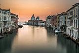 Grand Canal and Santa Maria della Salute Church from Accademia B