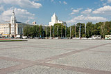 Lenin square in Voronezh
