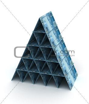 Brazilian Real Pyramid