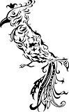 floral bird
