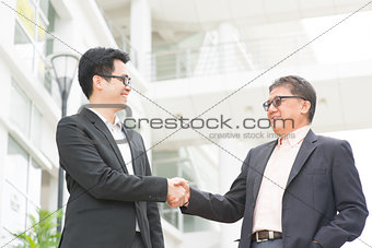 Business greeting
