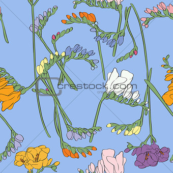 Freesia pattern