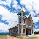Christian Church in Samosir Island.