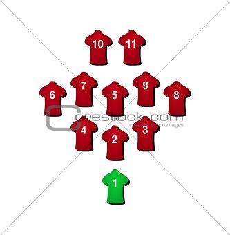 Football formation