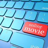 Online movie keyboard