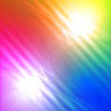abstract motley rainbow background with shining lines and waves