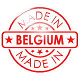 Made in Belgium red seal