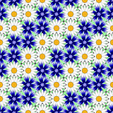 Design seamless colorful floral pattern