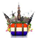 Holland, Amsterdam landmarks