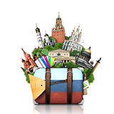 Russia, landmarks Moscow