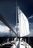 Luxury sail boat
