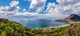 Panoramic view of Capetown