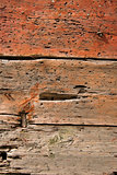 Old Damaged Wooden Background