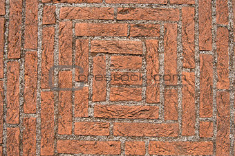 Old Floor with Bricks and Concrete