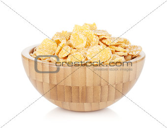 Fresh corn flakes