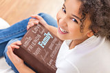 African American Girl Child Book Photo Album